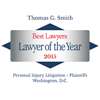 Best Lawyer of the Year 2015- Thomas Smith